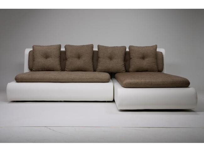 Диван угловой Скандинавия (Кормак) Textile Grey