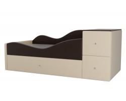 Детская кровать Дельта Левый угол фото